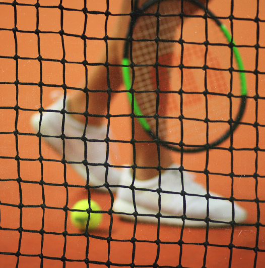 Enjoy clay-court practice or matches in your own backyard.